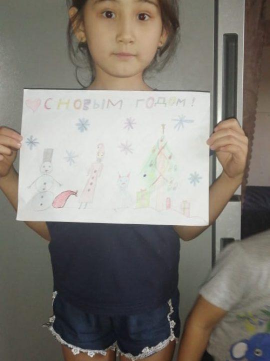 Асанова Ясмин, 8 лет