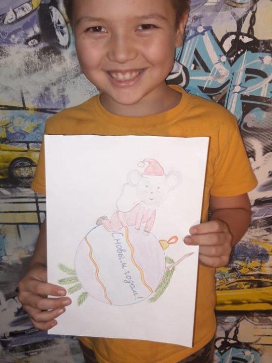 Квитков Семён, 8 лет