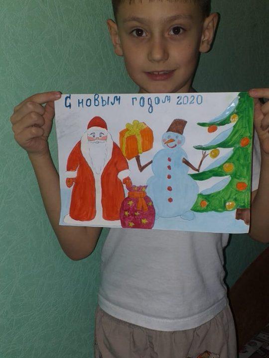 Красовский Илья, 7 лет