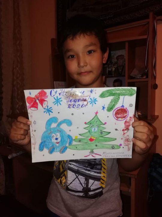 Мирзабеков Рамазан, 8 лет