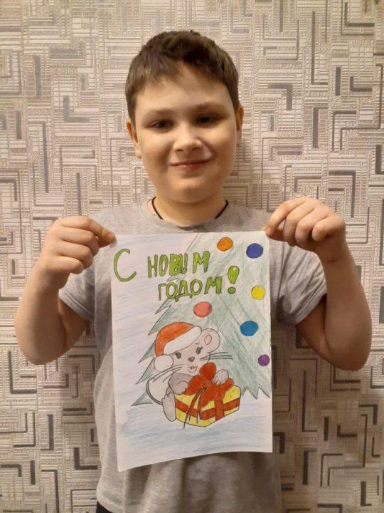 Погорелов Марк, 8 лет