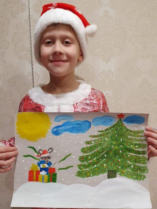 Сильнягин Никита, 8 лет