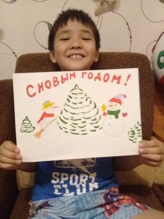 Сулейменов Алмаз, 8 лет